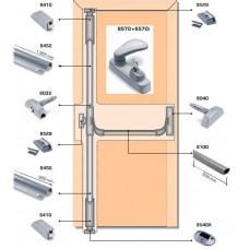 Система антипаника Fapim Panama с тремя точками запирания